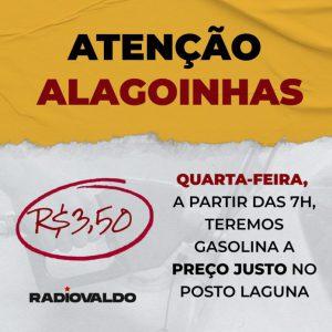 Petroleiros realizam ação de venda de gasolina a preço justo em Alagoinhas