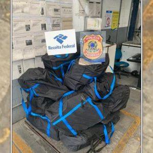 Cerca de 430 kg de cocaína embalados em carga de suco de abacaxi são apreendidos no porto de Salvador