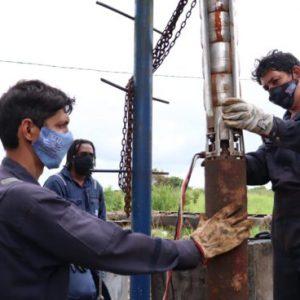 Com substituição de conjunto motobomba, SAAE aumenta capacidade de vazão de poço na Captação Sobocó em Alagoinhas