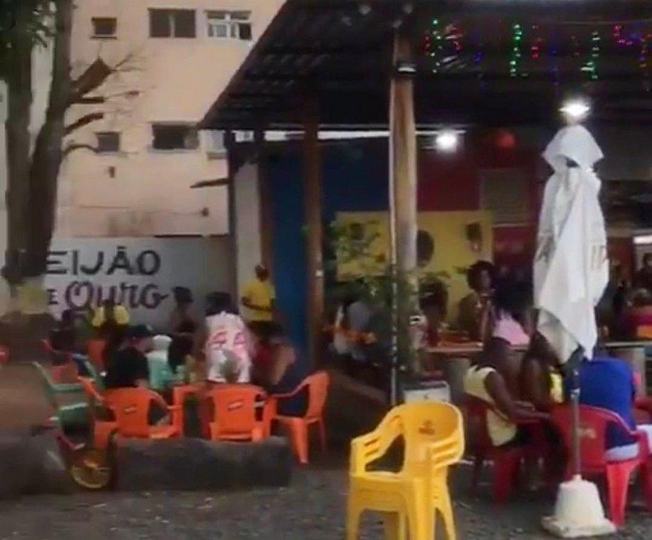 PM da reserva é morto após ser baleado em bar na Estrada Velha do Aeroporto