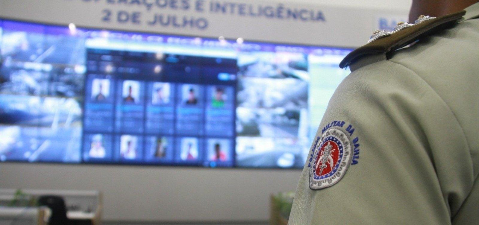 Foragido por roubo é preso após ser flagrado por câmera de reconhecimento facial