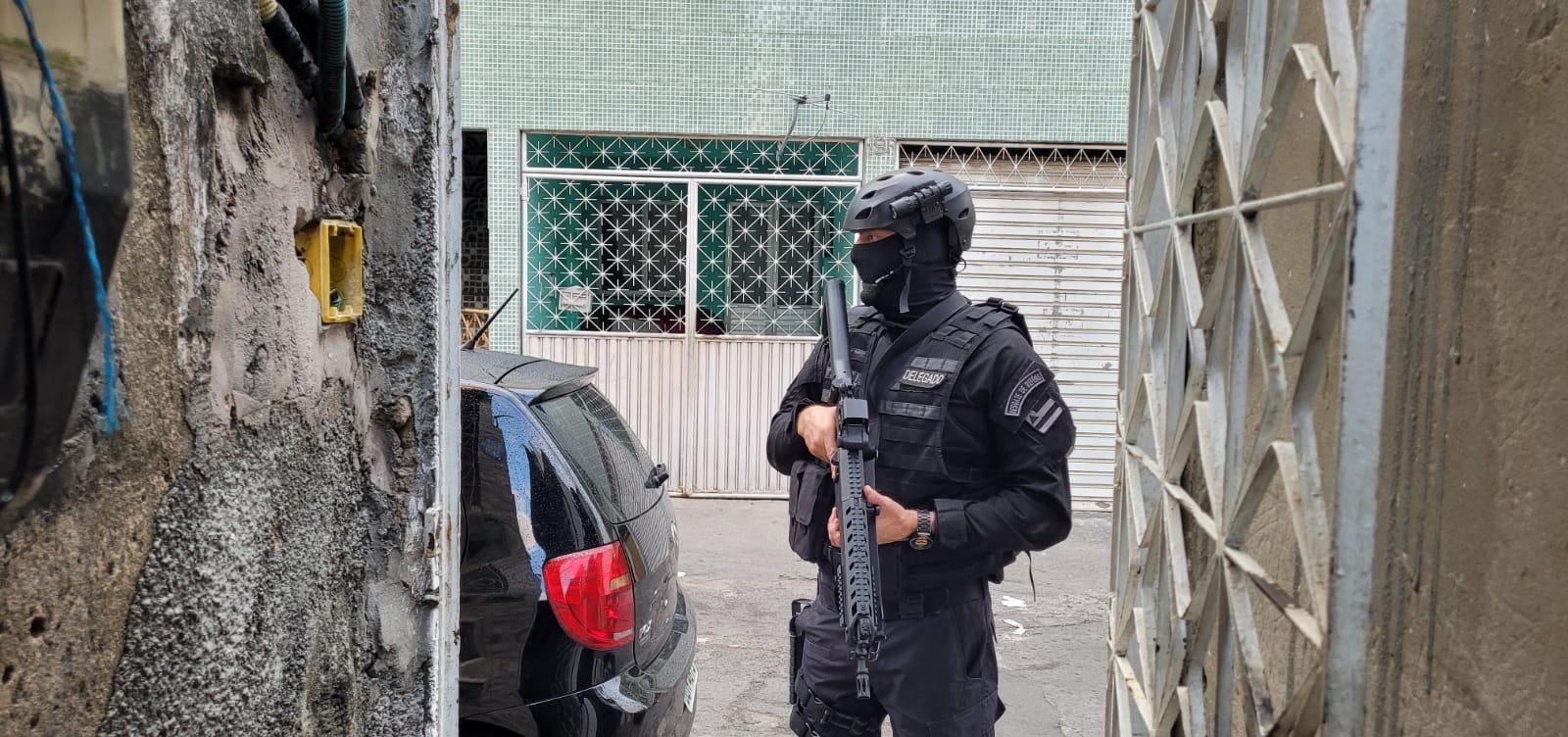 Polícia deflagra Operação Cangalha contra organizações criminosas na Bahia