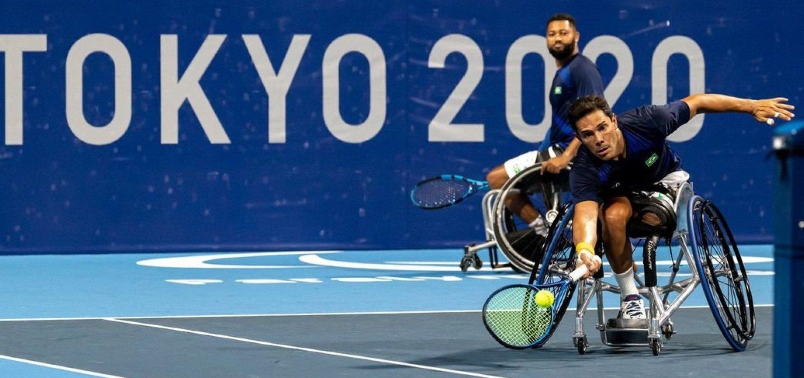 Brasil disputa Copa do Mundo por equipes de tênis em cadeira de rodas