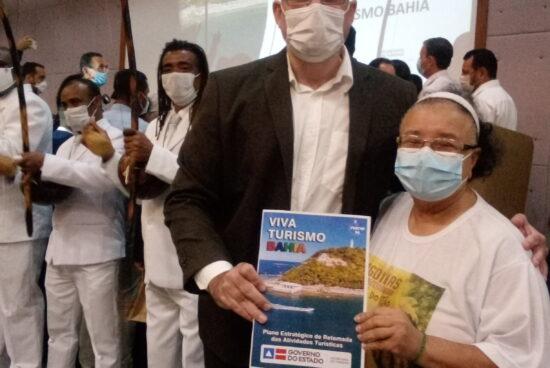 Alagoinhas marca presença no lançamento do plano de retomada do turismo na Bahia