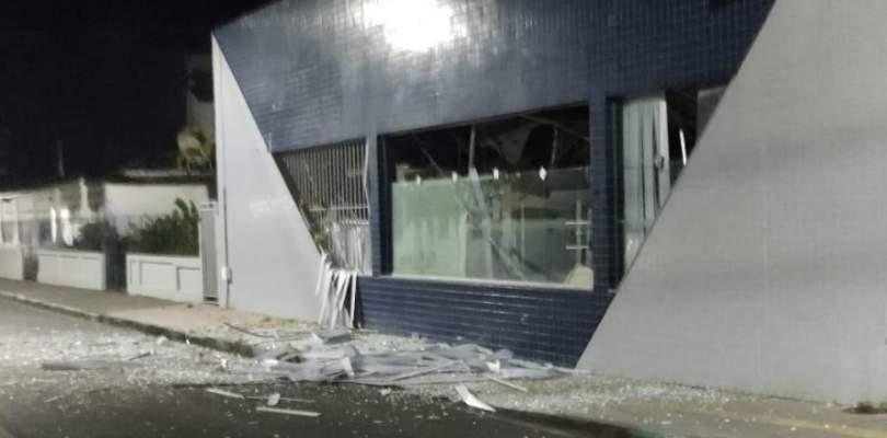 Quadrilha explode agência do Banco do Brasil em Salinas da Margarida, no recôncavo baiano