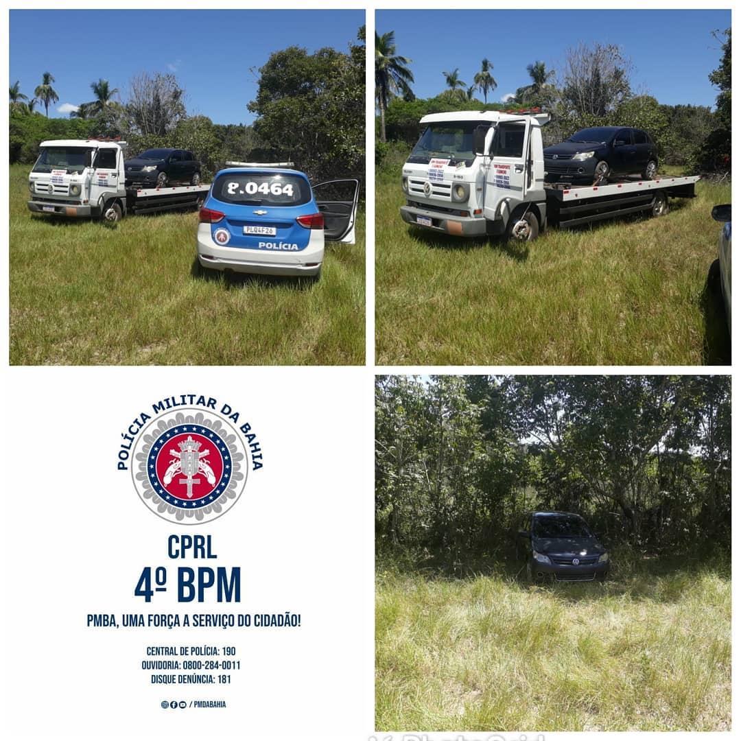 Policiais do Quarto Batalhão recuperam veículo roubado, após confronto com criminosos.