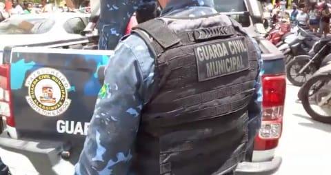 Suspeito de roubar celular foi preso pela Guarda Civil Municipal em Alagoinhas