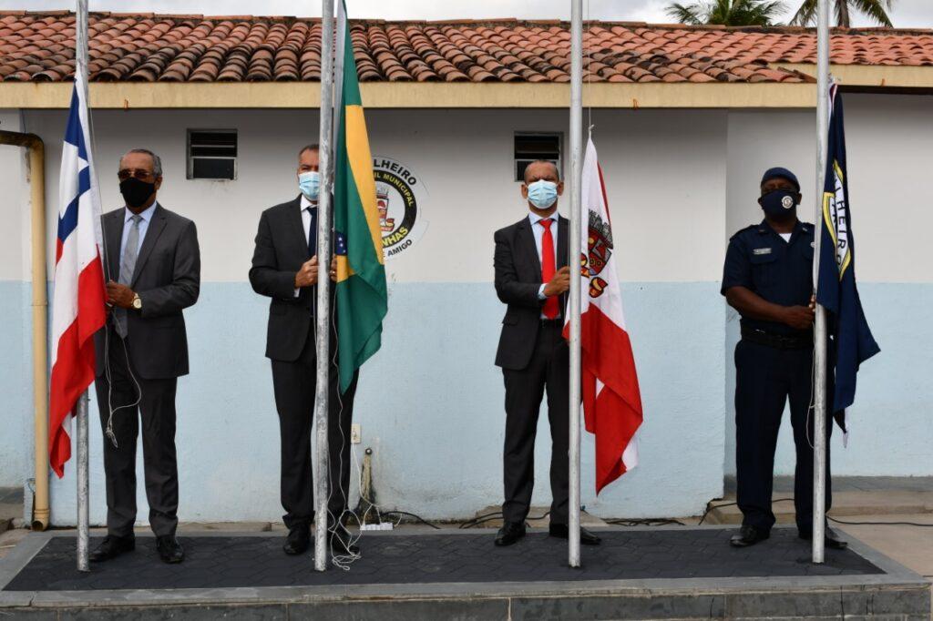Prefeitura de Alagoinhas comemora o 7 de Setembro com ato cívico e hasteamento de bandeiras