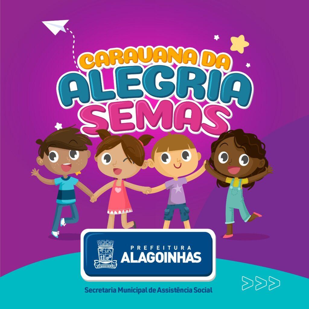 A Caravana da Alegria pede passagem: Prefeitura de Alagoinhas realiza grande ação em homenagem ao Dia das Crianças