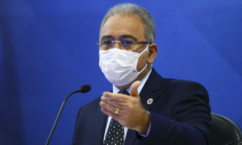 Ministro Marcelo Queiroga testa positivo para Covid-19