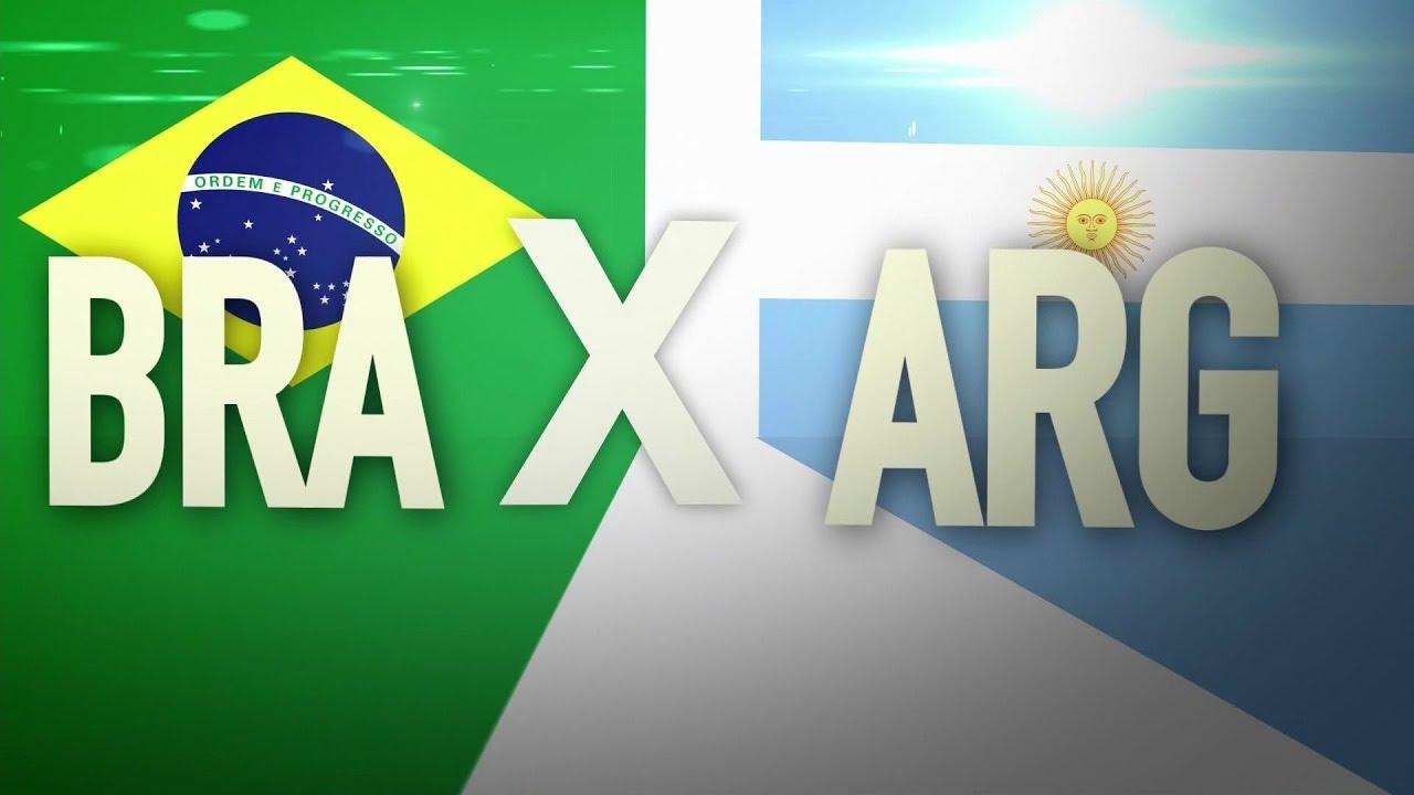Brasil X Argentina: confira horário do jogo e como ver ao vivo