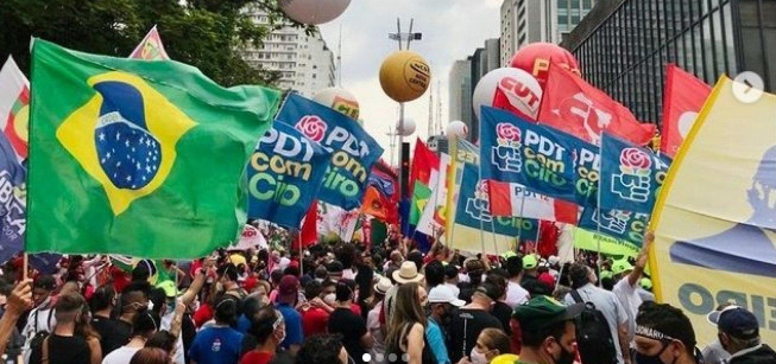 Sábado registra manifestações contra o governo federal em todo o país