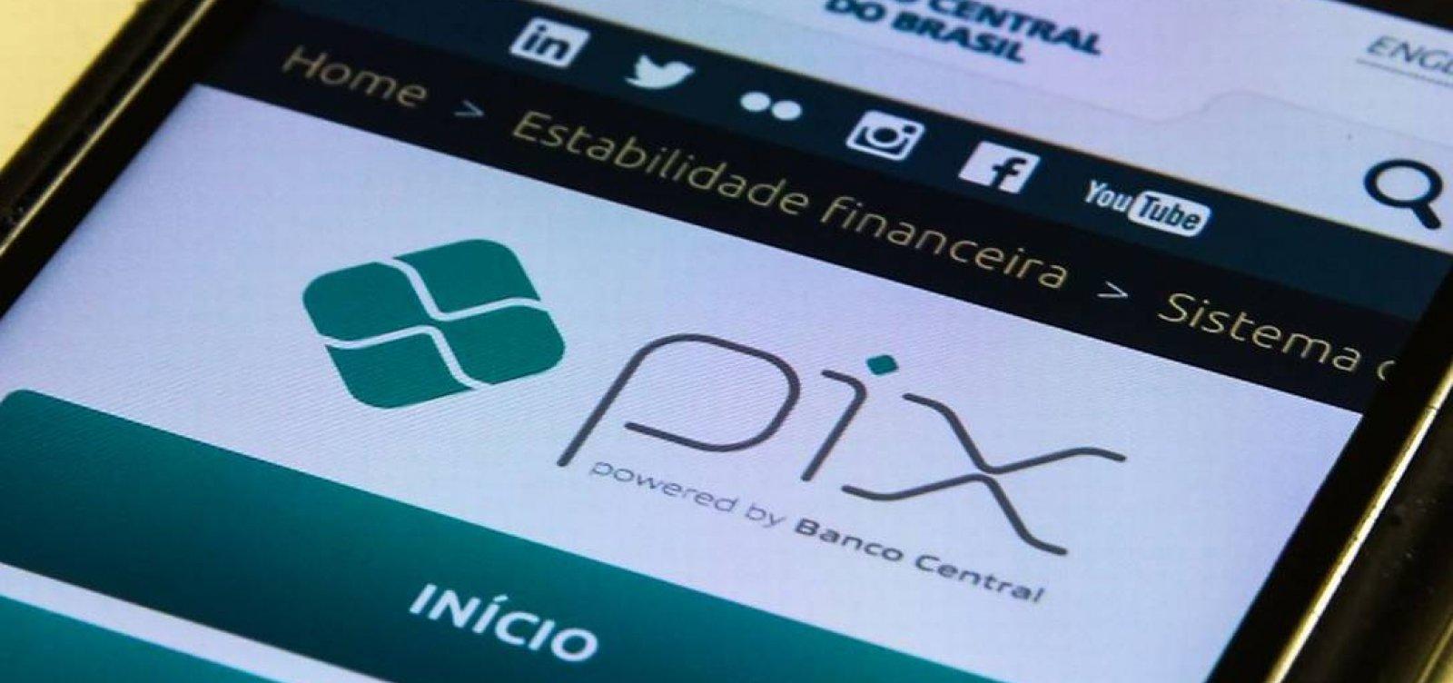 Limite de R$ 1.000 à noite em transferências no Pix passa a valer nesta segunda