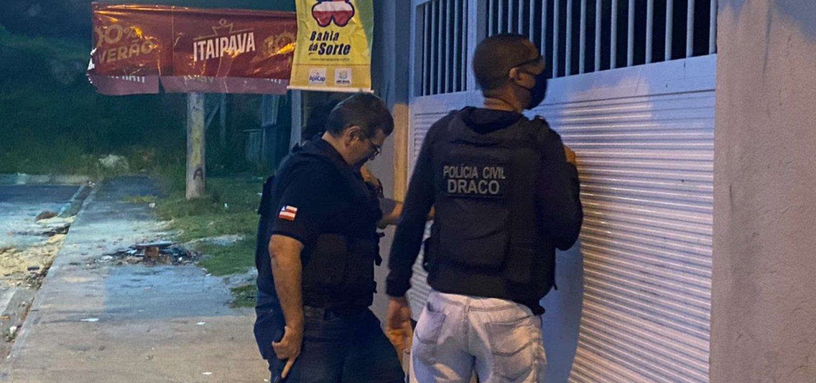 Polícia deflagra operação contra tráfico de drogas na RMS