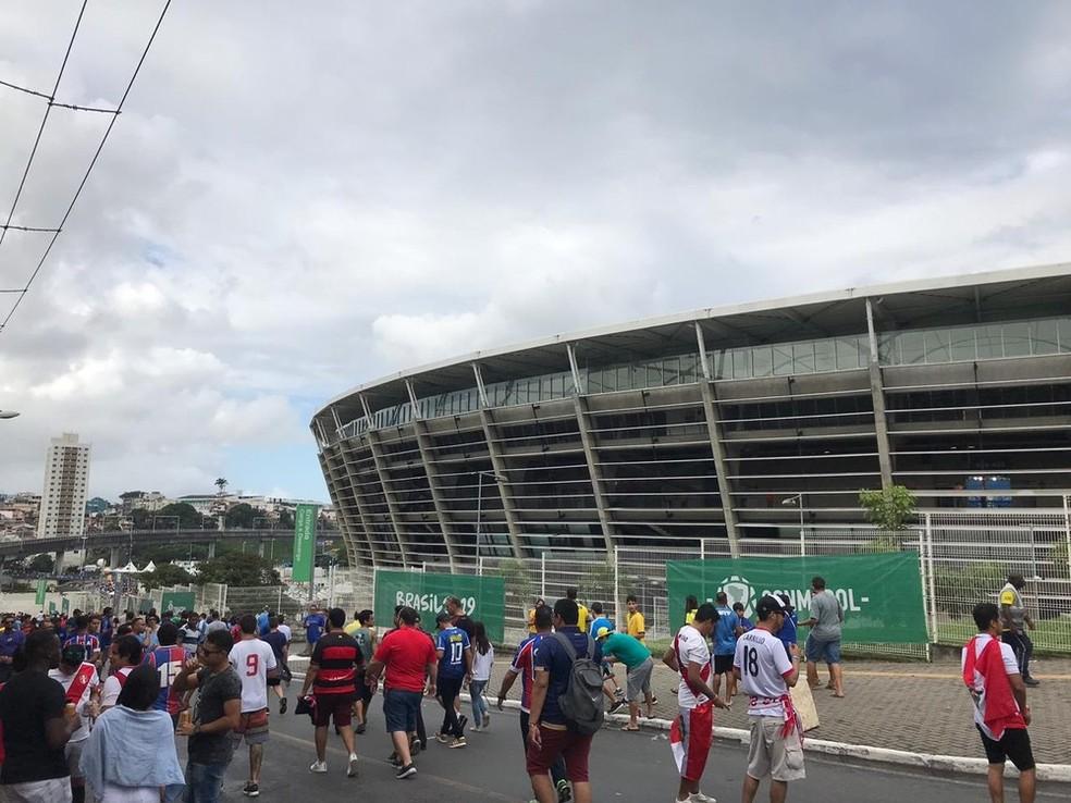 Estado vai liberar público nos estádios para 50%