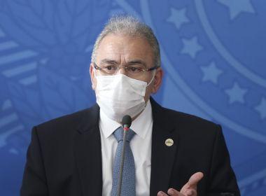 Queiroga testa negativo para Covid-19 e deve retornar ao Brasil nos próximos dias