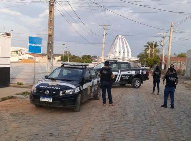 Polícia deflagra ação em interior baiano; alvos vão de violência doméstica a tráfico de drogas