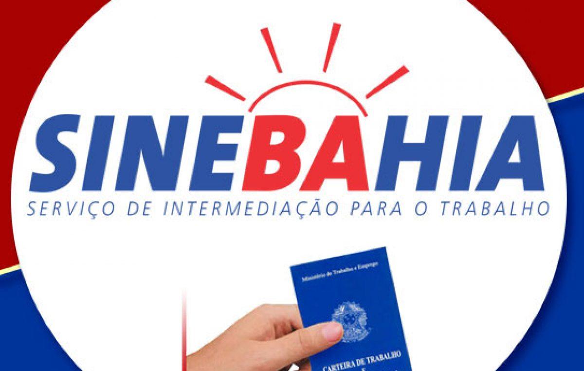SineBahia divulga vagas de emprego para esta segunda-feira (11) em Alagoinhas; confira