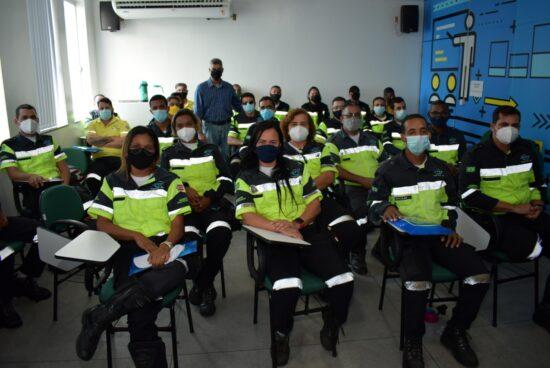 Agentes de trânsito de Alagoinhas passam por curso de atualização