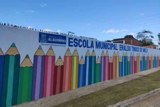 Alagoinhas: Com ampla reforma e recursos próprios, Prefeitura vai reinaugurar a Escola Eraldo Tinoco na quinta (07)