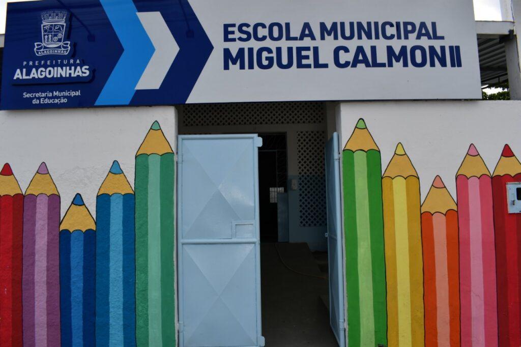 Escola Municipal Miguel Calmon II será reinaugurada nesta sexta (22), em Alagoinhas