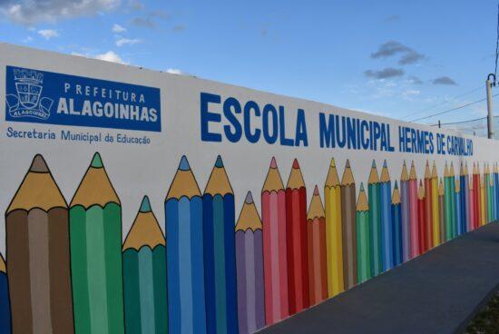 Escola Municipal Hermes de Carvalho será reinaugurada nesta sexta (15), em Alagoinhas
