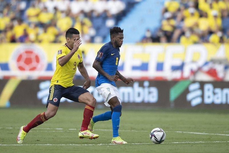 Brasil empata sem gols com a Colômbia e perde 100% de aproveitamento nas Eliminatórias