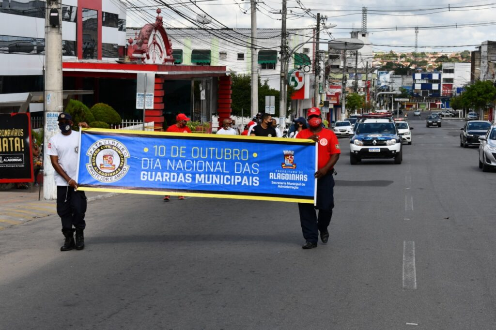 Homenagens à Guarda Civil Municipal marcam o domingo (10) em Alagoinhas