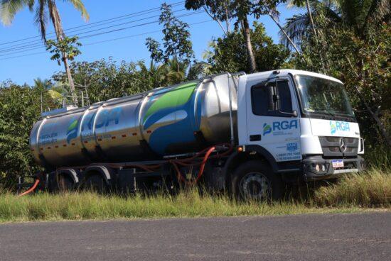 SAAE conta com novo caminhão-pipa para melhorar abastecimento em comunidades de Alagoinhas