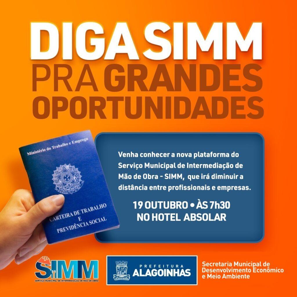 Prefeitura de Alagoinhas fará lançamento da plataforma do Serviço Municipal de Intermediação de Mão de Obra