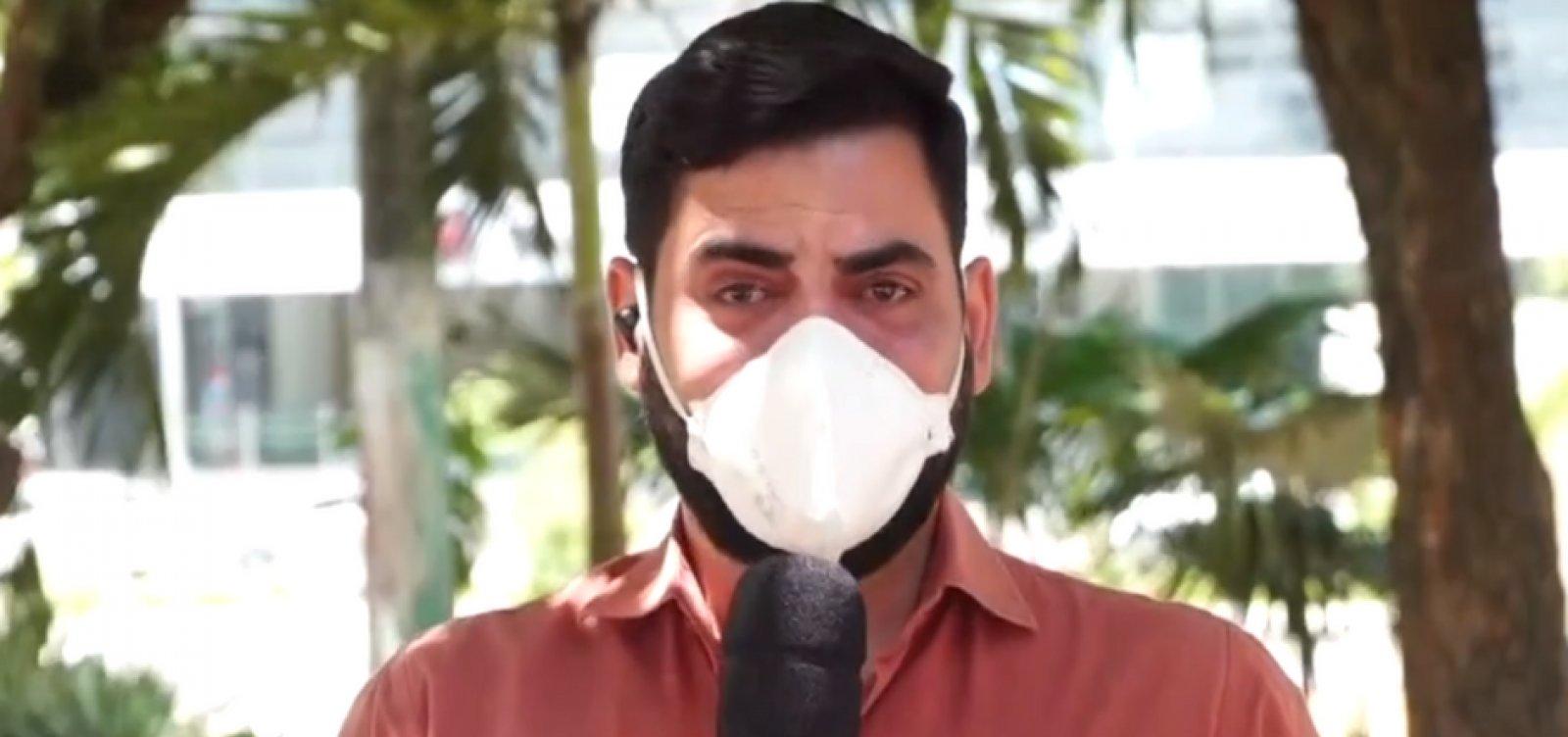 Repórter se emociona ao noticiar hospital com 30 dias sem mortes por Covid no RN; veja vídeo