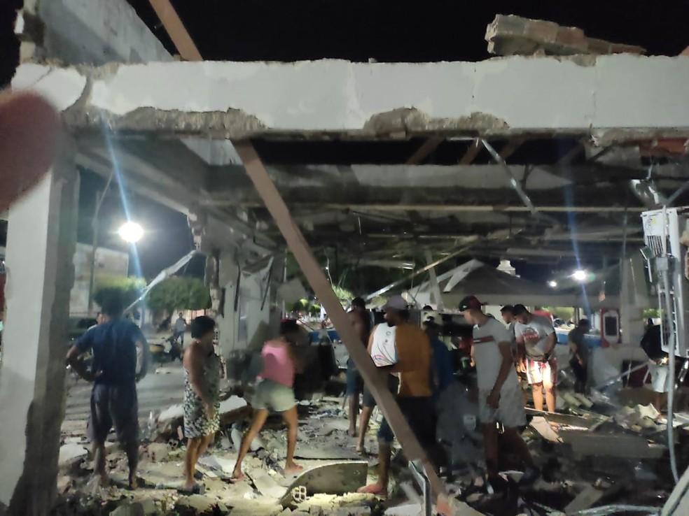 Agência bancária é explodida em Chorrochó, no interior da Bahia